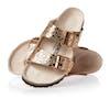 Birkenstock Arizona Birko Flor Sandals - Metallic Stones Copper
