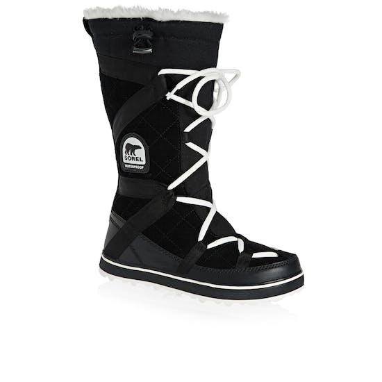 Sorel Glacy Explorer Faux Fur Womens Boots