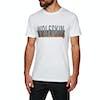 Jack Wolfskin Slogan Short Sleeve T-Shirt - White Rush