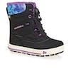 Merrell Snow Bank 2 WTPF Kids Boots - Black Print Berry