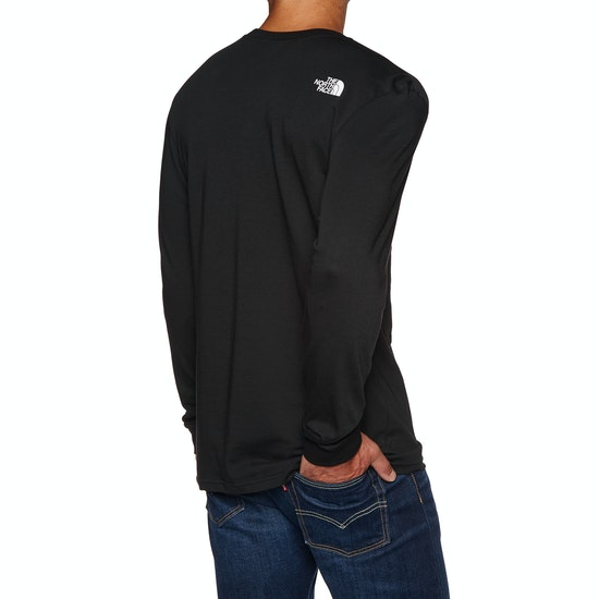 North Face Simple Dome Long Sleeve T-Shirt