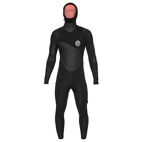 Muta Subacquea Rip Curl Flashbomb Heat Seeker 6/4mm Zipperless Hooded - Black