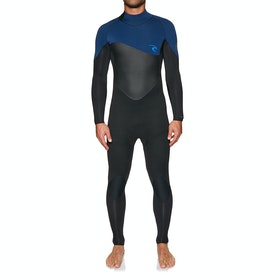 Rip Curl Omega 4/3mm Back Zip Wetsuit - Navy
