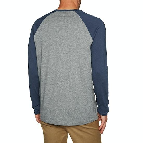 RVCA Motors Chest Long Sleeve T-Shirt