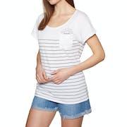 T-Shirt à Manche Courte Femme Rip Curl Low Tide