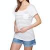 T-Shirt à Manche Courte Femme Rip Curl Low Tide - White