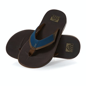 Reef Fanning Low Sandals - Navy Brown