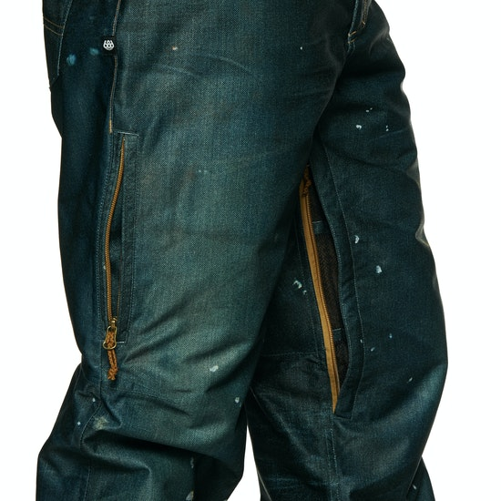 Calças de Snowboard 686 Deconstructed Denim Insulated