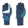 Adidas Snowboarding Goalie Snow Gloves - Collegiate Navy Real Teal