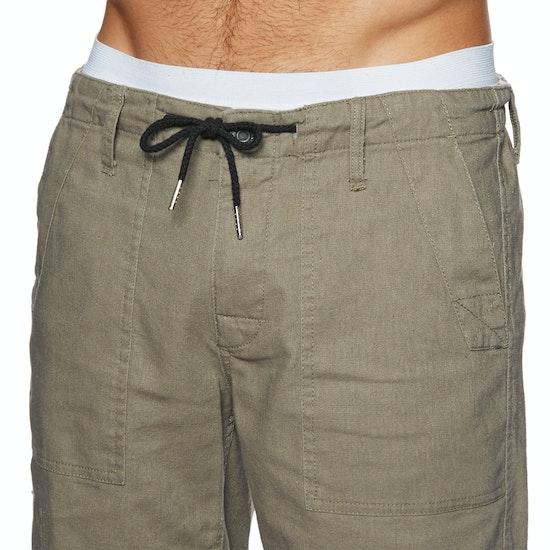 Rhythm Linen Bunker Wa Walk Shorts