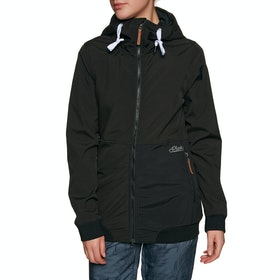 Planks Reunion Soft Shell Snow Jacket - Black