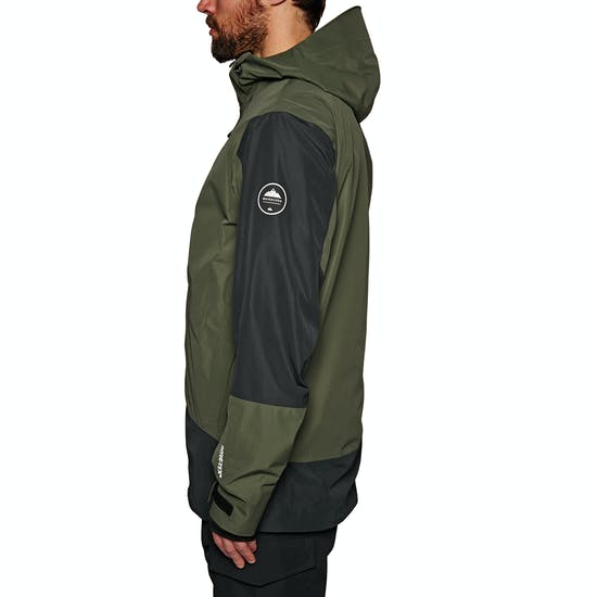 Quiksilver Mens Forever 2L GORE TEX Snow Jacket - Free