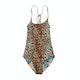 Seafolly Native Jungle Reversible Tank Girls Swimsuit
