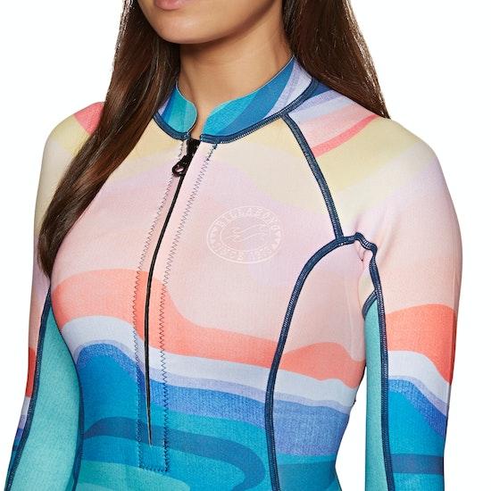 Wetsuit Jacket Billabong Salty Dayz Long Sleeve 2mm 2019 Front Zip