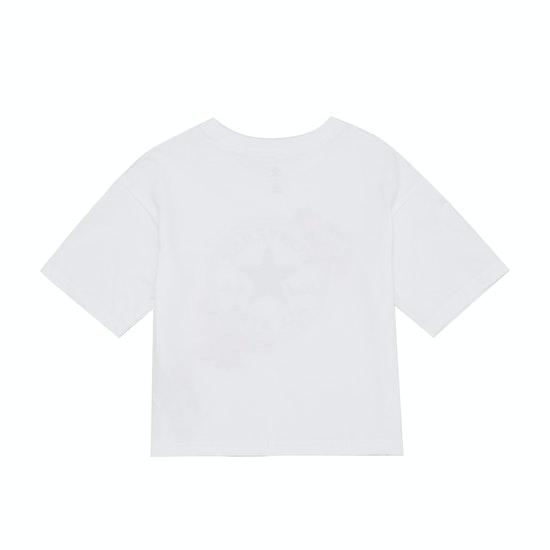 Camiseta de manga corta Niño Converse Rose Chuck Patch