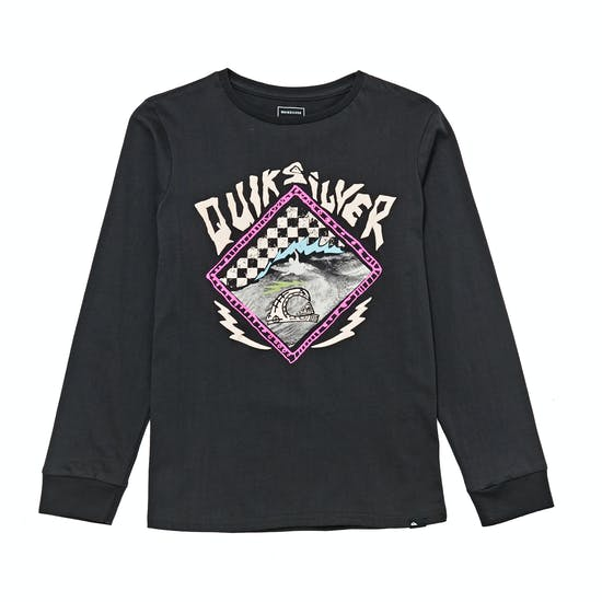 Quiksilver HB Check Boys Long Sleeve T-Shirt