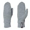 Hestra Heavy Merino Liner Snow Gloves - Grey