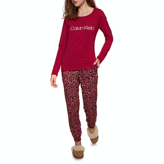 Pyjamas Calvin Klein Pj In A Box Cotton LS Pant Set