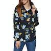 Joules Coast Print Womens Jacket - Navy Bouquet