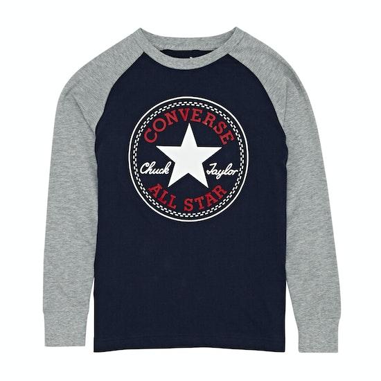 Camiseta de manga larga Niño Converse Chuck Patch Raglan