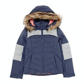 Roxy Bamba Girls Snow Jacket - Crown Blue