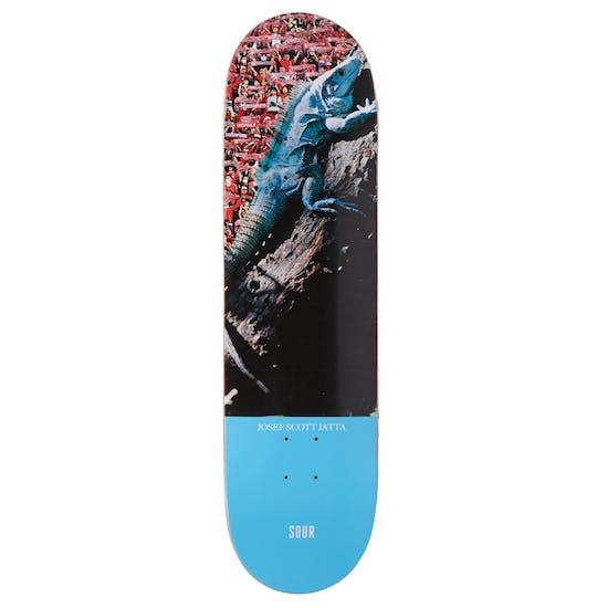 Sour Josef Iguana 8.5 Inch Skateboard Deck
