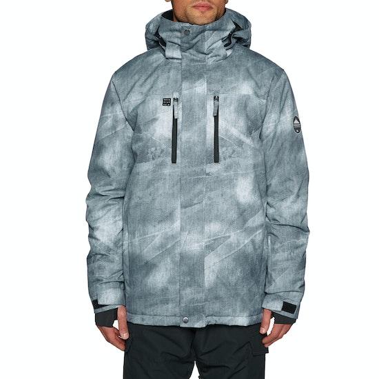 Blouson pour Snowboard Quiksilver Mens Mission Printed