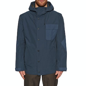 Holden Hooded Deck Snow Jacket - Navy