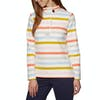 Joules Saunton Funnel Neck Womens Sweater - Multi Stripe