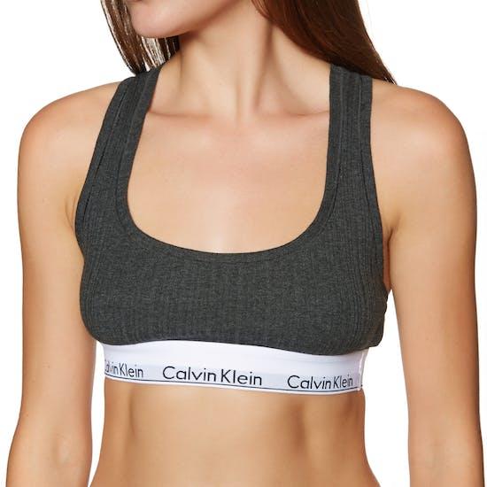 Soutien-gorge Femme Calvin Klein Modern Cotton Rib Unlined Bralette