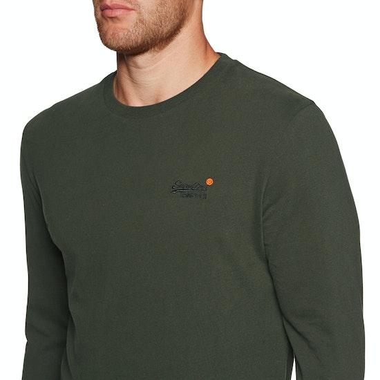 Superdry Orange Label Vintage Embroidered T-Shirt Lange Mouwen