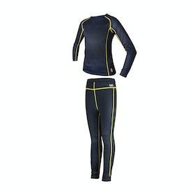 Barts Thermal leggings and Mädchen Funktionsunterwäsche Oberteil - Navy