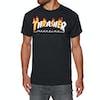 Thrasher Flame Mag Short Sleeve T-Shirt - Black