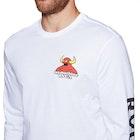 RVCA Small Toy Machine Mens Long Sleeve T-Shirt