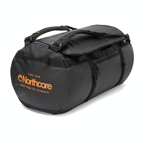 Northcore 85L Duffle Bag - Black Orange