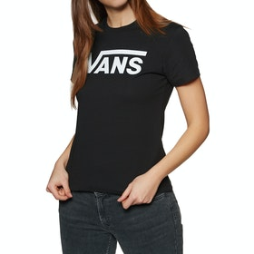 Vans Flying V Crew Womens Short Sleeve T-Shirt - Black