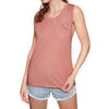 Animal Shadowz Womens Tank Vest - Brick Dust Pink