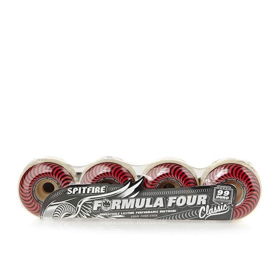 Spitfire Formula Four Classics 99du 60 Mm Skateboard Wheel