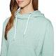 Superdry Logo Emboss College Crop Womens Pullover Hoody