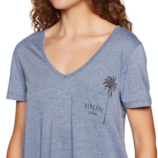 T-Shirt à Manche Longue Femme Rip Curl Surf Racer