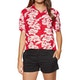 Volcom Aloha Ha Womens Short Sleeve Shirt