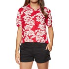 Volcom Aloha Ha Ladies Short Sleeve Shirt