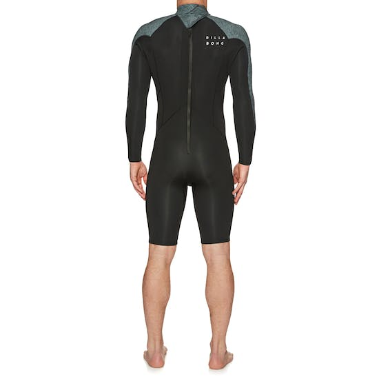 Billabong Absolute 2/2mm Back Zip Long Sleeve Shorty Wetsuit