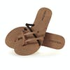 Volcom New School Womens Sandals - Brown Combo