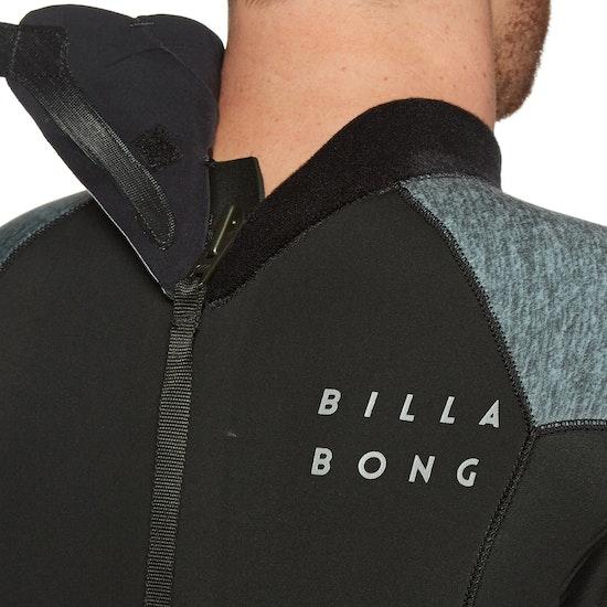 Billabong Absolute 2/2mm Back Zip Long Sleeve Shorty Wetsuit