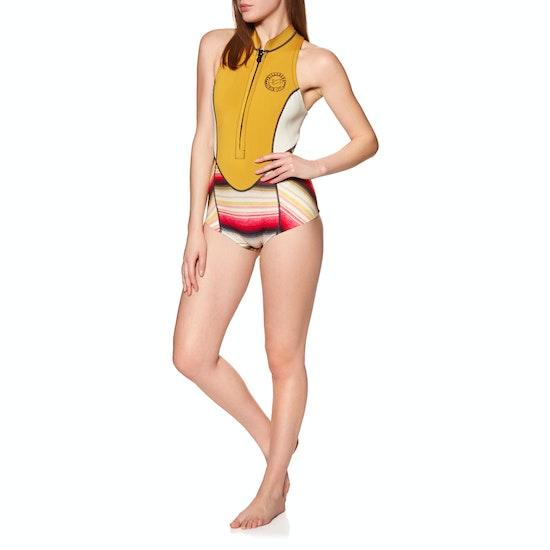 Billabong Salty Dayz 1mm Front Zip Sleeveless Shorty Wetsuit