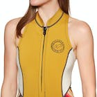 Billabong Salty Dayz 2019 1mm Front Zip Sleeveless Shorty Ladies Wetsuit