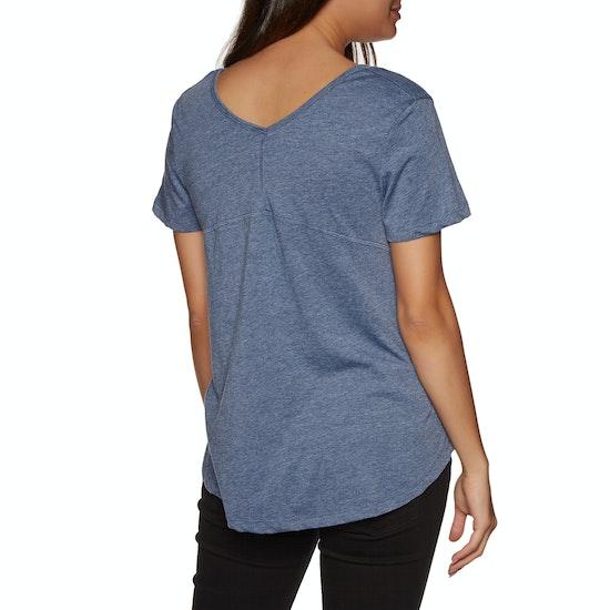 T-Shirt à Manche Courte Femme Rip Curl First Light Pocket