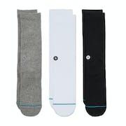 Stance Icon 3 Pack Socks