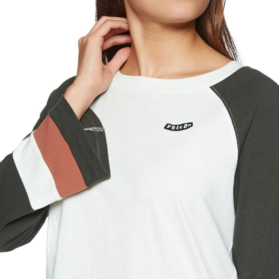 Volcom Streakin Stone Womens Long Sleeve T-Shirt